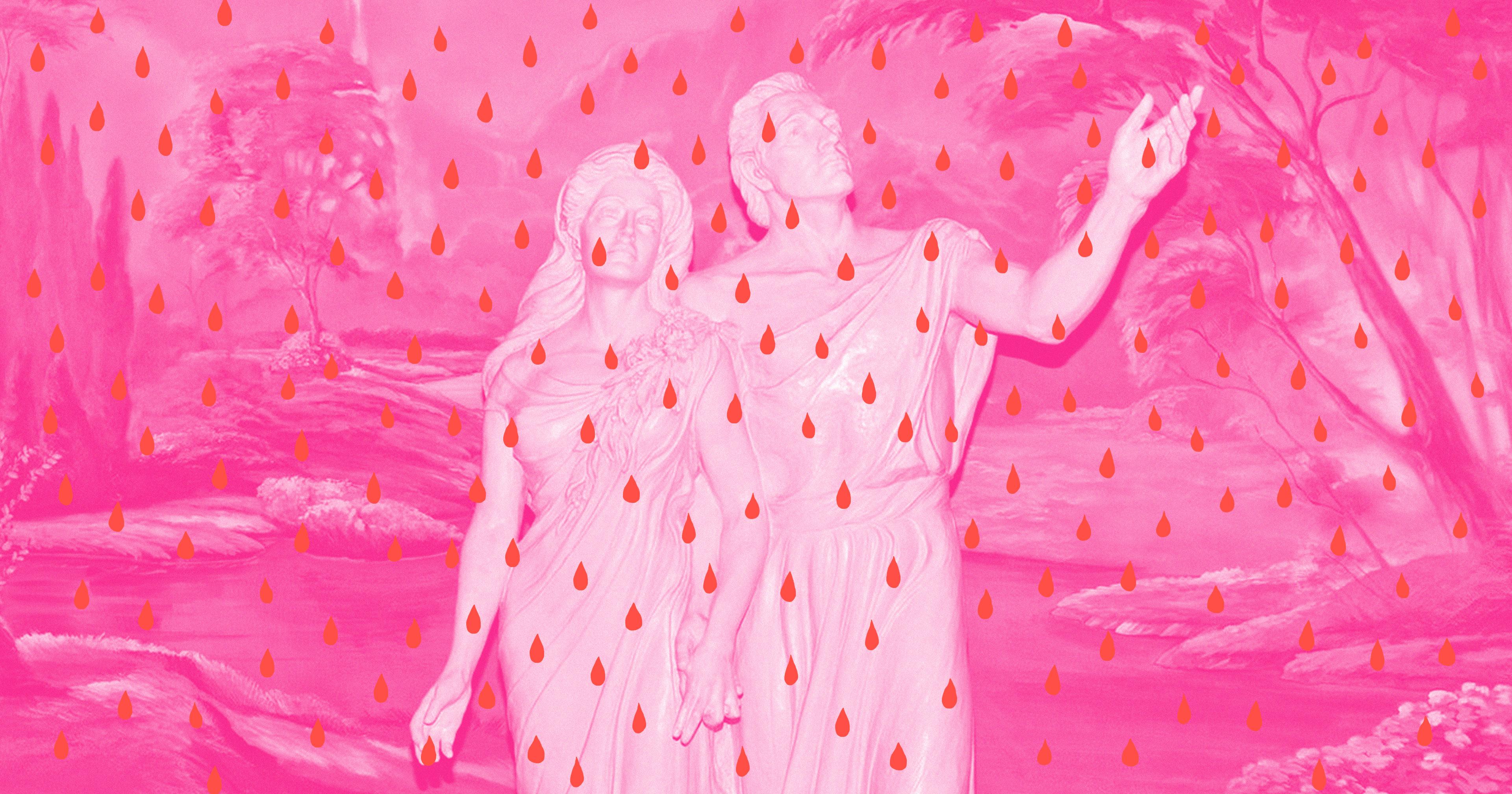 Sexe menstruel lesbienne